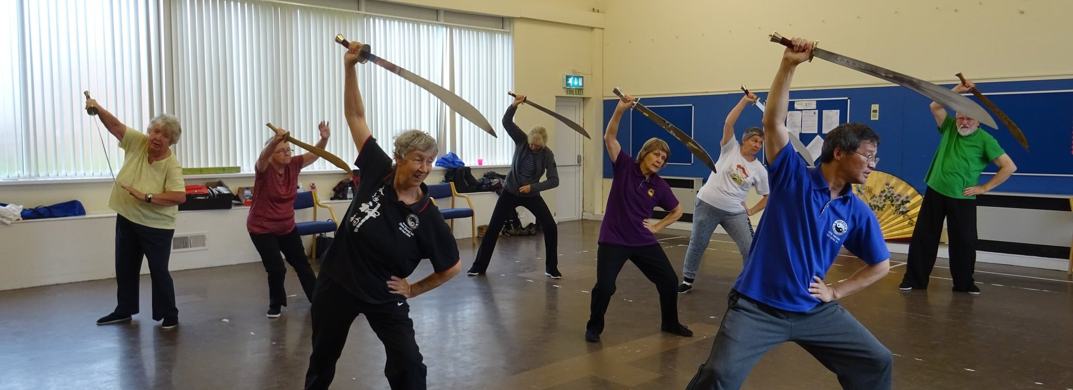 Broadsword Training with Grandmaster Liming Yue Seminar